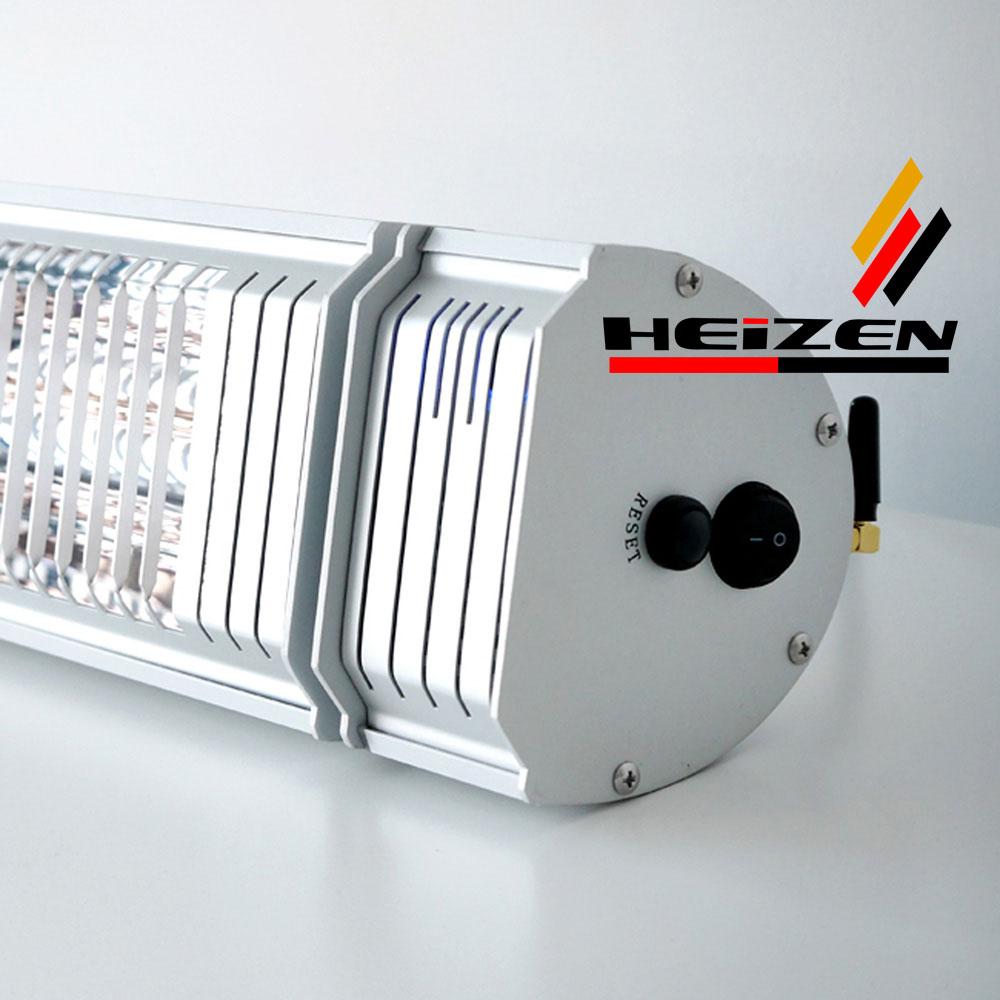 Đèn sưởi nhà tắm Heizen Appino 20 không chói mắt  điều khiển khiển bằng Smartphone